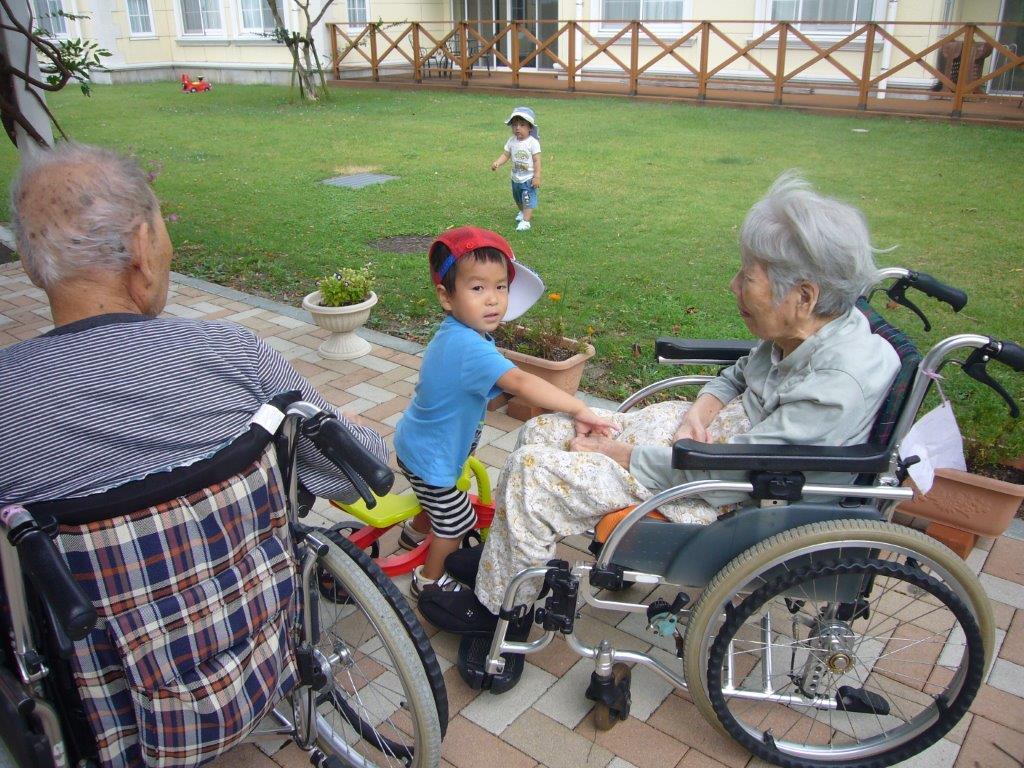 ⑦おじいちゃん、おばあちゃん大好き